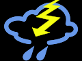 Moderate thunderstorm